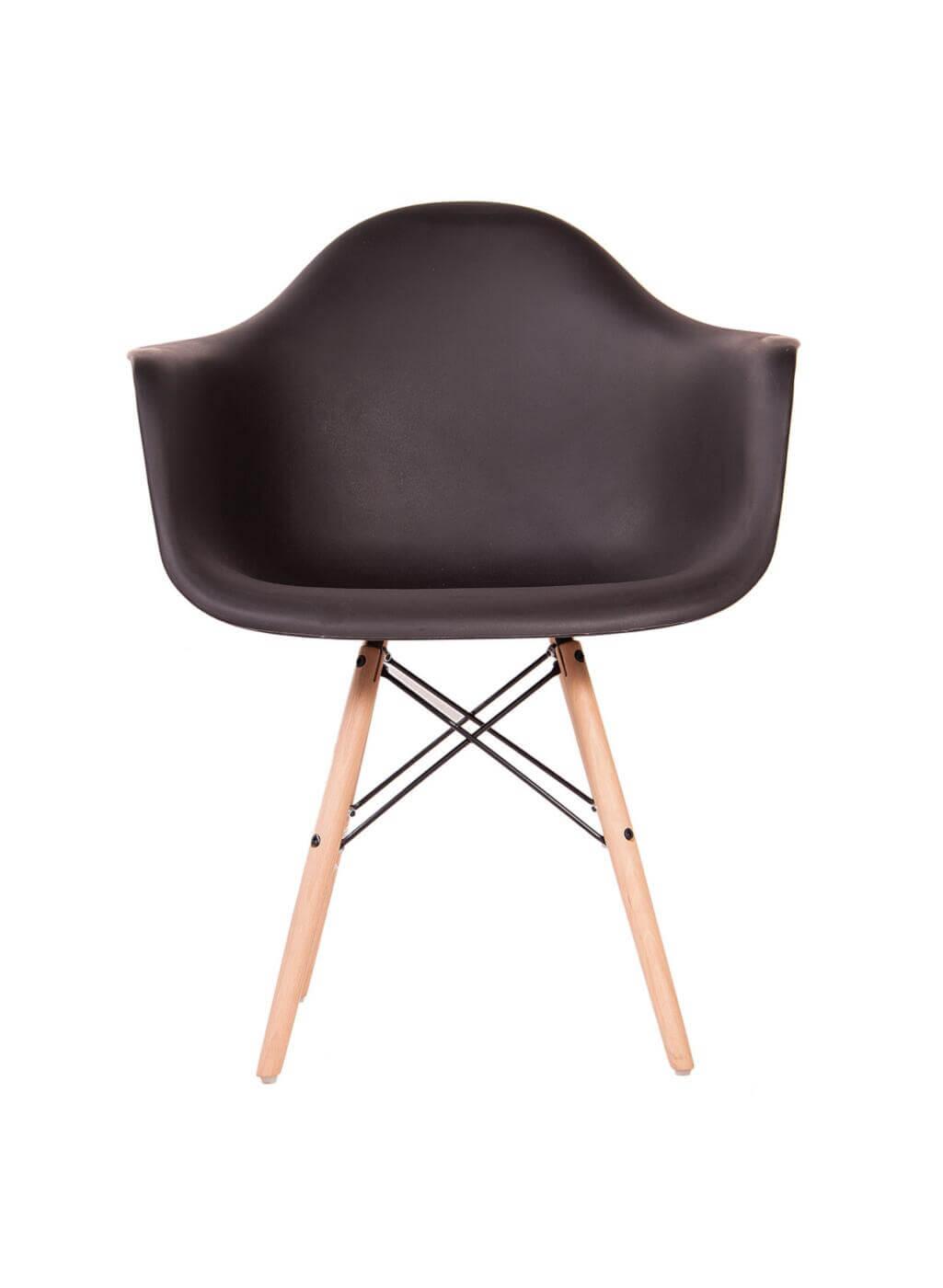 صندلی مدرن پایه ایفلی چوبی ایزی مدل EW