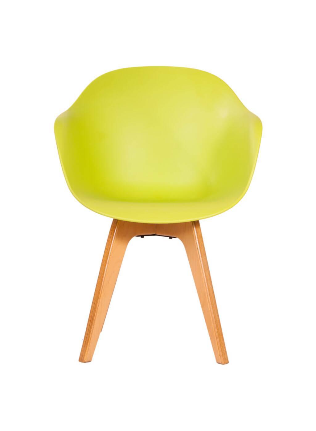 صندلی مدرن پایه چوبی کامفورت مدل CBW
