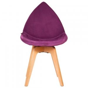 صندلی مدرن دیبا پایه چوبی مدل DB-تشکدار
