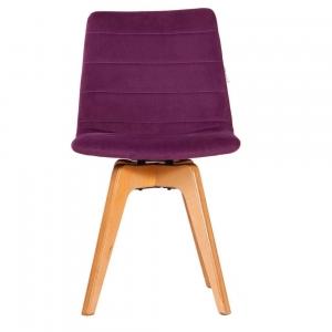 صندلی مدرن پایه چوبی فونیکس مدل PHW-تشکدار