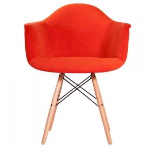 صندلی پایه چوبی ایفلی دسته دار ETW