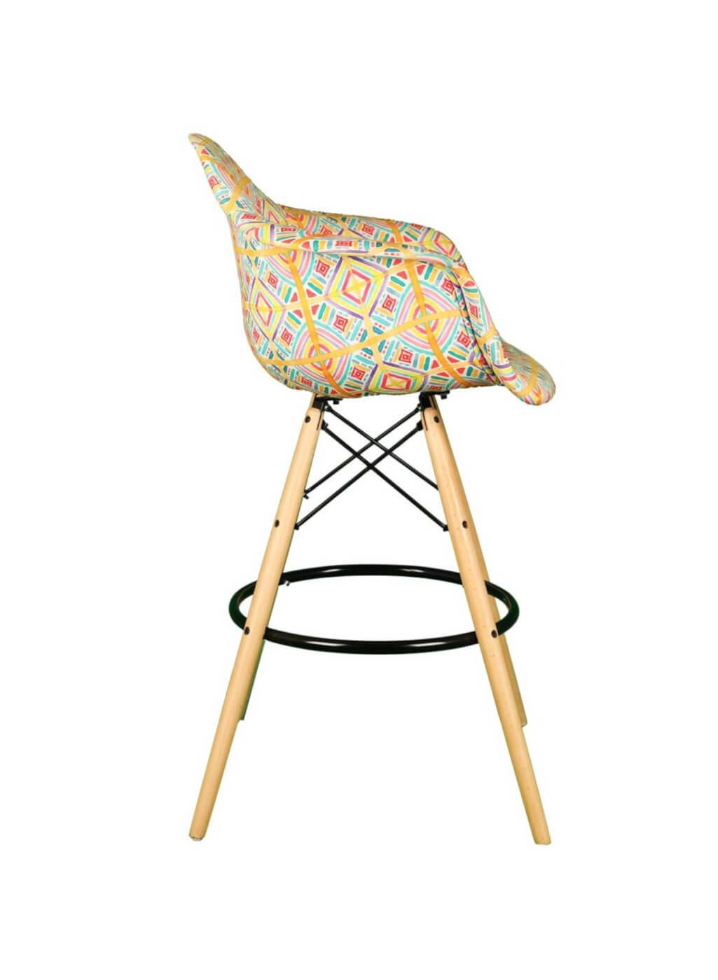 صندلی اپن پایه چوبی ایزی مدل ETW51-تشکدار