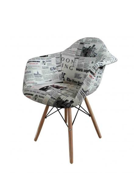 صندلی مدرن ایزی طرح روزنامه