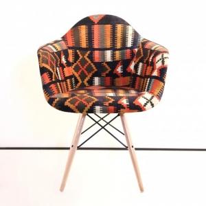 صندلی مدرن ایزی طرح چهل تکه مدل ETW-تشکدار