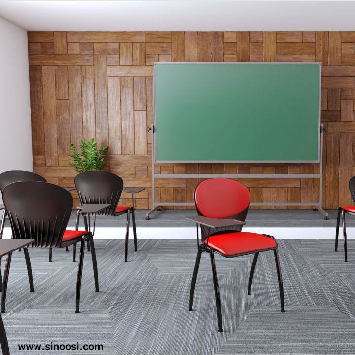 صندلی آموزشی دسته دار صدفی