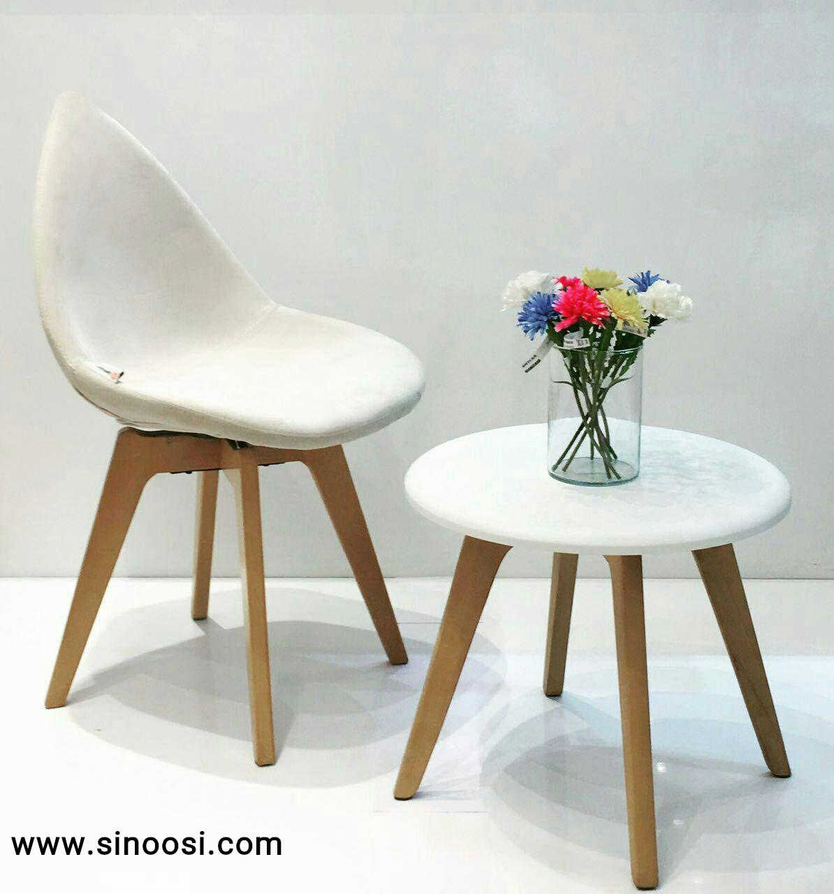 میز عسلی چوبی